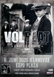 VOLBEAT - 2019 - Plakat - Concert - Rewind Replay Rebound - Poster - Hannover