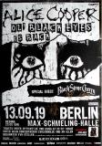 BLACK STONE CHERRY - 2019 - Alice Cooper - Poster - Berlin - Signed/Autogramm