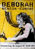 HENSON-CONANT, DEBORAH - 1997 - Jazz - Poster - Signiert - Baden Baden