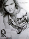 MORRIS, JILL - 1996 - Country - Hollywood Endings - Poster - Autogramme/signed