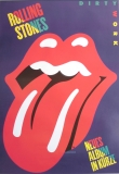 ROLLING STONES - 1986-03-00 - Promoplakat - Dirty Works - Poster - B