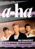 A-HA - 1988 - Konzertplakat - In Concert - Tourposter - Hannover