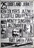 DIXIELAND JUBILEE - 1969 - Plakat - Jazz - Monthy Sunshie - Ken Colyer - Poster
