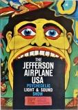 JEFFERSON AIRPLAINE - 1968 - Plakat - Günther Kieser - Poster - Düsseldorf