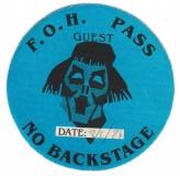 BARCLAY JAMES HARVEST - 1984 - Guest Pass - Victims of Circum - Hamburg - B