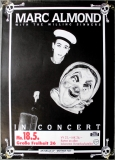 ALMOND, MARC - SOFT CELL - 1986 - Plakat - Mother Fist - Poster - Hamburg