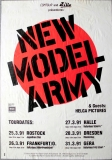 NEW MODEL ARMY - 1991 - Plakat - In Concert - Helga Pictures - Poster