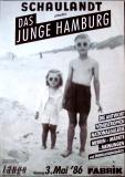 DAS JUNGE HAMBURG - 1986 - Plakat - Die Antwort - Nationalgalerie - Poster