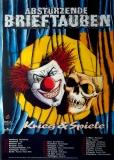ABSTÜRZENDE BRIEFTAUBEN - 1993 - Tourplakat - Krieg & Spiele - Tourposter