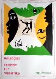 AMANDLA - FREIHEIT FÜR AFRIKA - African National Congress - Poster