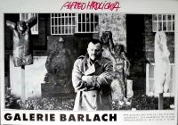 HRDLICKA, ALFRED - 1984 - Galerie Barlach - Austellung - Poster - Hamburg