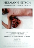 NITSCH, HERMANN - 1995 - Das Orgien Mysterien Theater - Poster - Hamburg