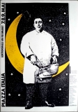 PIAZZA ITALIA - 1980 - Plakat - Italien Woche - Poster - Hamburg