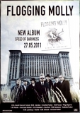 FLOGGING MOLLY - 2011 - Plakat - Speed of Darkness - Poster