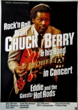 BERRY, CHUCK - 1977 - Plakat - Eddie & the Hot Rods - Günther Kieser - Poster