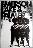 EMERSON LAKE & PALMER - 1971 - Plakat - In Concert - Günther Kieser - Poster