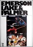 EMERSON LAKE & PALMER - 1973 - Plakat - In Concert - Günther Kieser - Poster