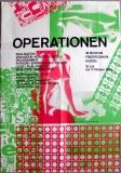 AUSSTELLUNG: OPERATIONEN - 1969 - Dieter Himmelmann - Poster - Kassel