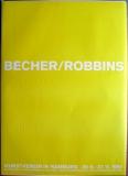 AUSSTELLUNG: BECHER/ROBBINS - 1994 - Plakat - Poster - Hamburg