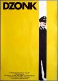 AUSSTELLUNG: DZONK - 1983 - Plakat - Künstlerwerkstatt - Poster - München