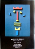AUSSTELLUNG: MANFRD BESSER - 1995 - Bilder aus 20 Jahren - Poster - Hamburg