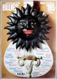 AMERICAN FOLK & BLUES - 1985 - Plakat - Günther Kieser - Poster - München