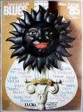 AMERICAN FOLK & BLUES - 1985 - Plakat - Günther Kieser - Poster - Stuttgart