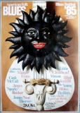 AMERICAN FOLK & BLUES - 1985 - Plakat - Günther Kieser - Poster - Karlsruhe