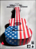 ACCOUSTIC GUITAR SOLOS - 1981 - William Ackerman - Alex DeGrassi - Poster