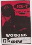 ICE-T - BODY COUNT - 1994 - Backstage Pass - Crew - Home Invasion Tour