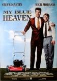 MY BLUE HEAVEN - 1992 - Plakat - Film - Steve Martin - Poster