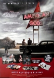AMERICAN GODS - 2017 - Film - Plakat - Ricky Whittle - Ian McShane - Poster
