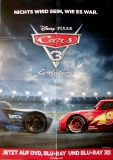 CARS 3 - EVOLUTION - 2017 - Film - Poster