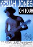 JONES, KEZIAH - 1992 - Plakat - Concert - Blufunk Is A Fact Tour - Poster - Berlin