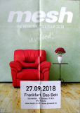 MESH - 2018 - Plakat - In Concert - The Retrospective Tour - Poster - Frankfurt