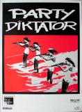 PARTY DIKTATOR - 1992 - Plakat - In Concert - Worldwide Tour - Poster