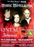 QNTAL - 2005 - Plakat - In Concert - Schelmish - Tour - Poster - Karlsruhe