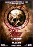 WUMPSCUT - 2008 - Promoplakat - Schädling - Poster