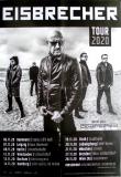 EISBRECHER - 2020 - Plakat - In Concert - Schattenmann - Tour - Poster