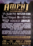 AMPHI FESTIVAL - 2019 - In Extremo - Lord of the Lost - Nitzer Ebb - Poster - Köln