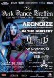 DARK DANCE TREFFEN 23. - 2007 - Agonoize - In The Nursery - Poster - Autogramme