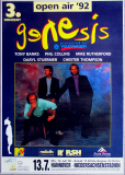 GENESIS - 1992 - Plakat - In Concert - We cant Dance Tour - Poster - Hannover - B