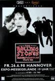 ROLLING STONES - 1998-06-26 - Plakat - Bridges to...Tour - Poster - Hannover (G)
