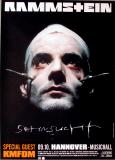 RAMMSTEIN - 1997 - Plakat - Helnwein - Sehnsucht Tour - Poster - Hannover