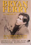 FERRY, BRYAN - ROXY MUSIC - 2000 - Plakat - As Time goes - Poster - Hannover