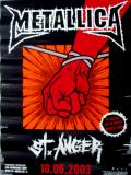 METALLICA - 2003 - Promoplakat - St. Anger - Poster