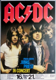 AC/DC - ACDC - 1979 - Plakat - Judas Priest - Highway...Tour - Poster - Essen
