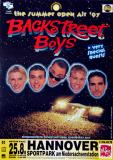 BACKSTREET BOYS - 1997 - Plakat - In Concert - Open Air Tour - Poster - Hannover