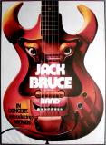 BRUCE, JACK - 1972 - Plakat - In Concert - Günther Kieser - Tourposter (B)