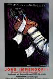 IMMENDORF, JÖRG - 1997- Ausstellung - Wie geht es der Künstler Hand - Poster